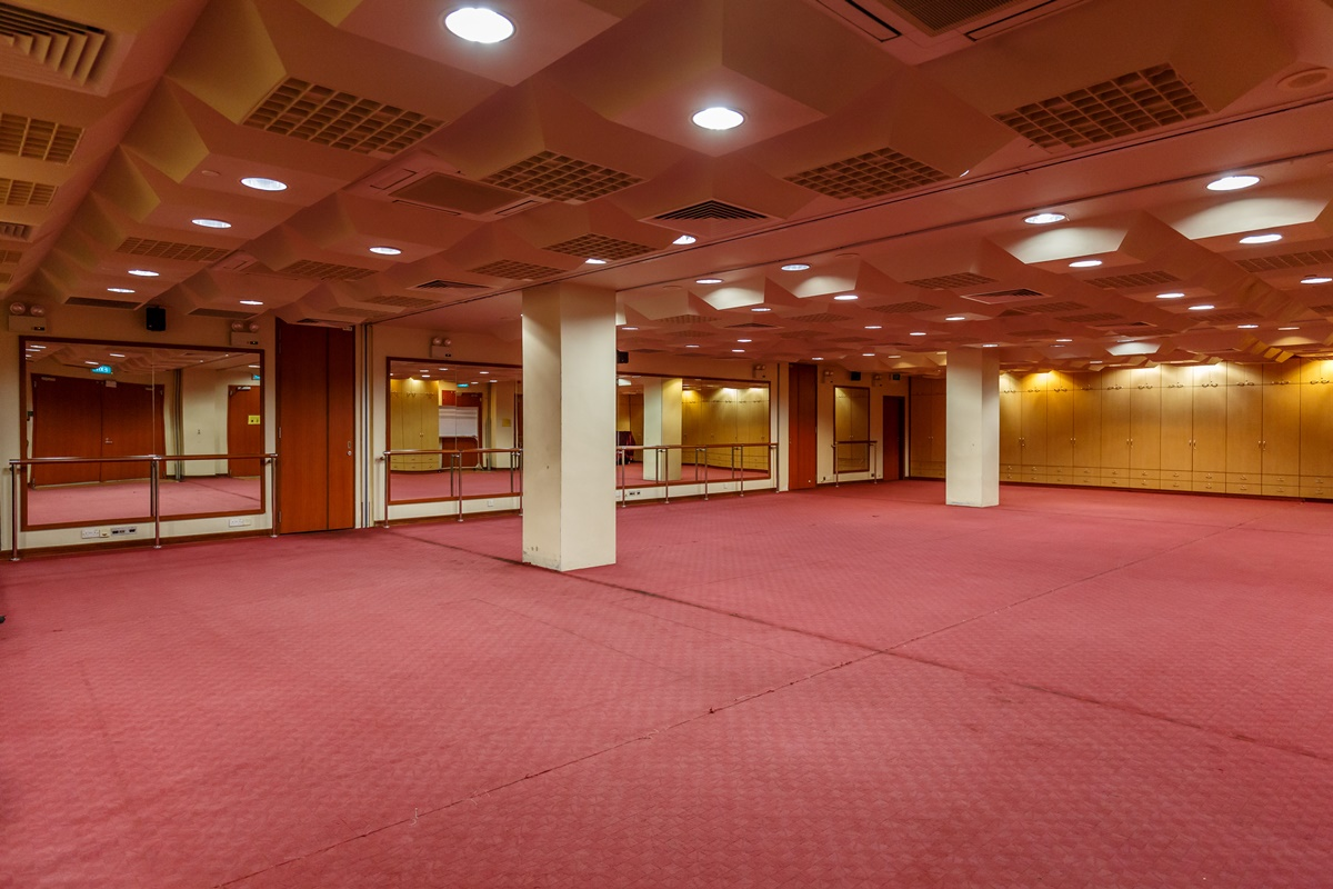 Sectional Practice Hall